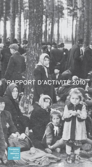 RAPPORT D'ACTIVITÉ 2010 - Ordiecole.com
