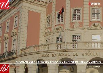 ANGOLAN DESK | CRÉDITO BANCÁRIO E ... - Abreu Advogados