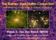 The Galaxy−Dark Matter Connection