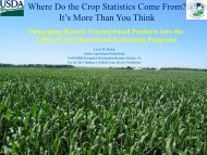 Where Do the Crop Statistics Come From? - National Agricultural ...