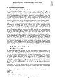 Referat (6 Seiten) - Ev.-Luth. Bekenntnisgemeinschaft Sachsens