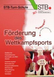 STB-Turn-Schule - Förderung des Wettkampfsports