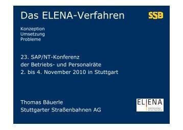 Das ELENA-Verfahren - Br-arbeitskreis-sapnt.de