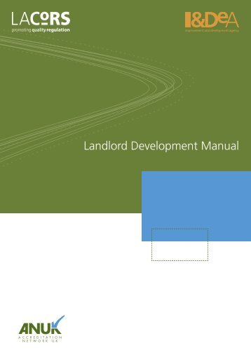 LACORS landlord development manual - Derby City Council