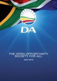 MDU-349 DA Open Opportunity Book.pdf - Democratic Alliance