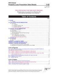 DS 1-52 Field Verification of Roof Wind Uplift Resistance - FM Global