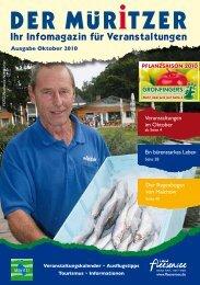Ausgabe Oktober 2010 Veranstaltungen im Oktober Ein - Der Müritzer