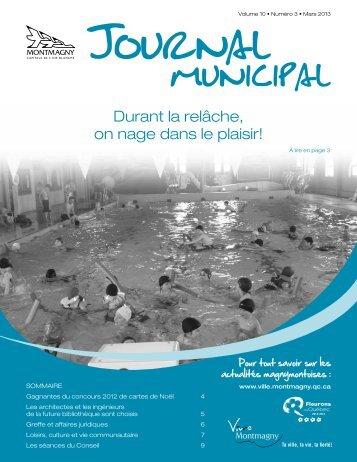 Mars 2013 - Ville de Montmagny