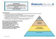 Strategische Unternehmensplanung - Diakonie Dresden