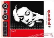 quadral Katalog 2013