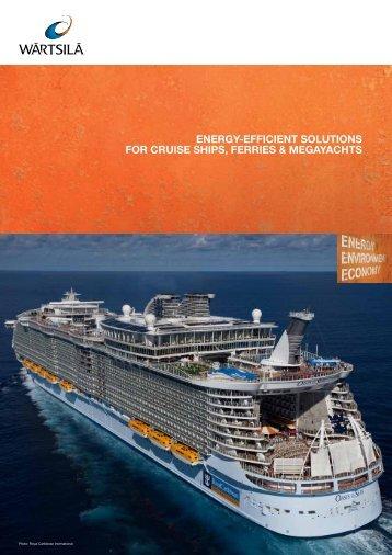 Cruise Ships, Ferries & Megayachts Solutions - Wärtsilä