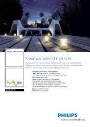 Brochure Philips Imageo Tealights (1707 kb) - GoedkoperMetLed.nl