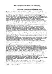 1/2008 Mitteilungen der Schulleitung (PDF) - Oscar-Paret-Schule ...