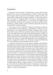 Presentazione Il presente volume raccoglie i contributi ... - Edilingua