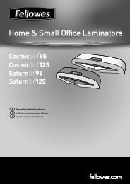 Home & Small Office Laminators - Fellowes