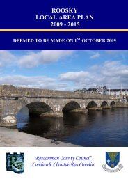 roosky local area plan 2009 - 2015 - Roscommon County Council