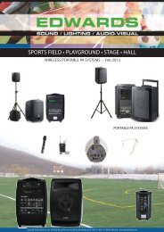 Download our Portable PA System guide - Edwards Sound