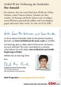 UNSERE MINISTERPRÄSIDENTIN - CDU Saar - Seite 2