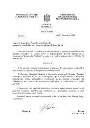 Ordin Nr. 503 din 27.12.2008 cu privire la aprobarea Normelor ...