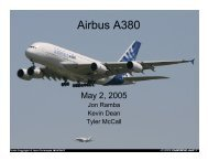 Airbus A380 - the AOE home page