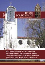 Unser Borsigwalde, Ausgabe 3, Frühjahr 2005 - Emine Demirbüken ...