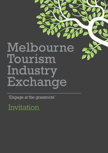 Invitation - Destination Melbourne
