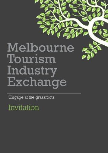 Invitation - Destination Melbourne