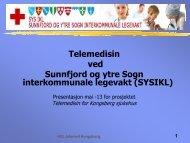 TELEMED Kongsberg mai -13 Helge Ulvestad - Vestre Viken HF