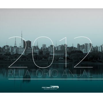 Relatório FecomercioSP 2012