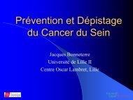 Dépistage du Cancer du Sein - Pôle Santé de Grenoble