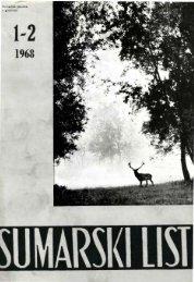 ÅUMARSKI LIST 1-2/1968