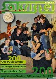 e - Jugendzeitung Sakristei