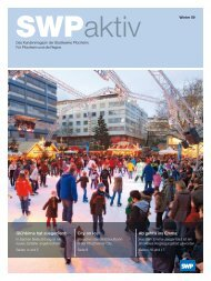 SWP Aktiv, Ausgabe Winter 2009 - Stadtwerke Pforzheim