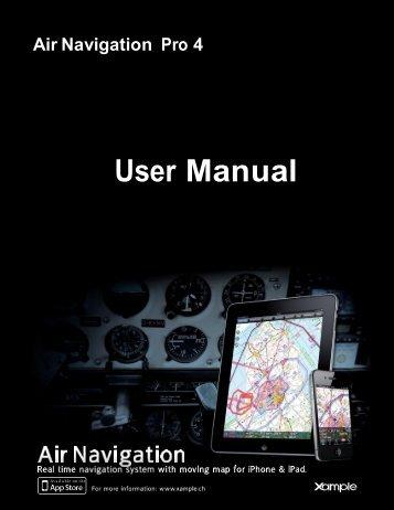 Air Navigation Pro 4 - User manual - Xample