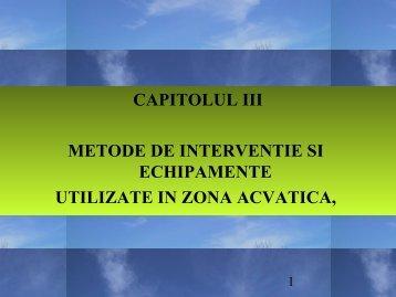 Prezentări curs - Cap. III