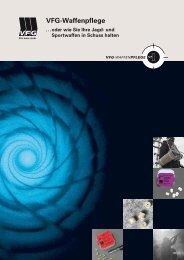 Download Broschüre als PDF - VFG Waffenpflege