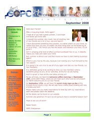 SOPC Newsletter September 2008 - Sopc.us
