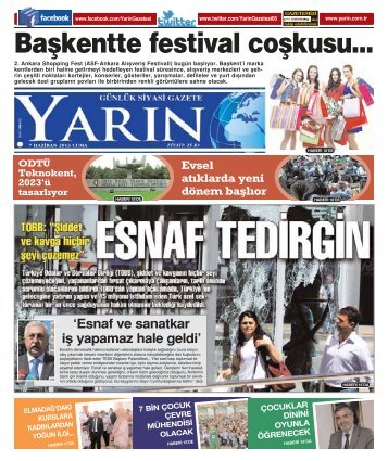 Ankara 7 Haziran 2013