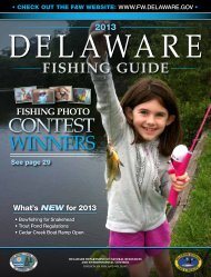 winners Contest - Delaware Department of Natural Resources and ...