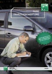 Download PDF: Flyer Faire Fahrzeugbewertung - Arval