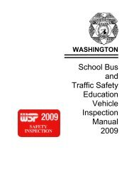 School Bus and Traffic Safety Education Vehicle Inspection Manual ...