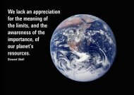 We lack an appreciation for the meaning of the limits, and the ...