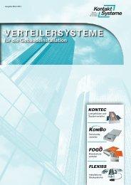 Katalog 2013 komplett 60 Seiten - Kontaktsysteme GmbH