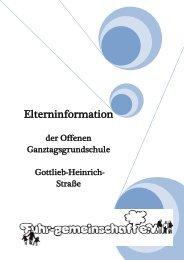 Elterninformation - Grundschule Gottlieb-Heinrich-Straße