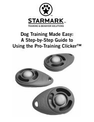 Dog Training Made Easy - Starmark Pet Products