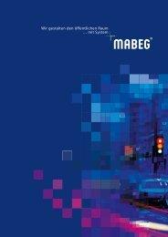 MABEG Imagebroschüre - Größe: 327,66 KBytes - Kommunalinfo24