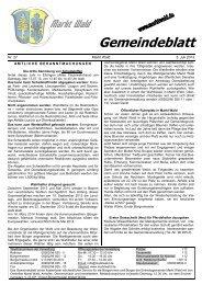 Download (PDF - 235 KB) - Marktgemeinde Markt Wald