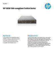 Hp Networking Product Portfolio Weibel Informatik Ag