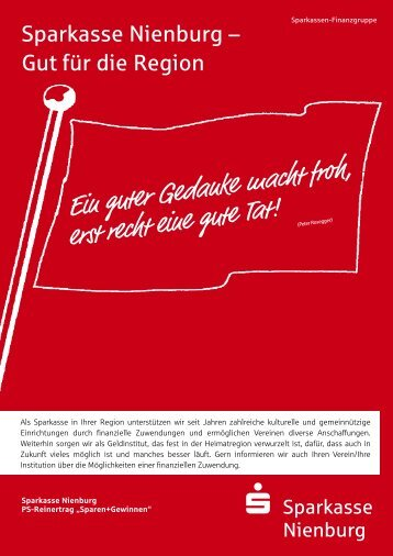 Infos + Antrag (PDF) - Sparkasse Nienburg