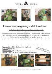 Download Klink2 - Weis und Weis Auktionen GmbH